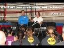 Richard Norton and Benny The Jet Urquidez talk to the 2013 TKC Black Belt Candidates Part 2