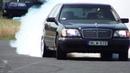 Mercedes S 600 V12 Biturbo 0-270km/h acceleration, and burnout    KO 860