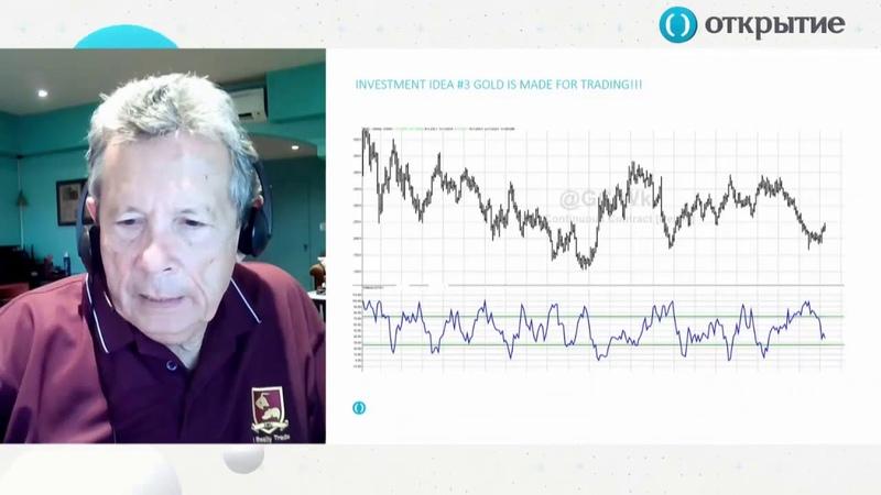 Ларри Вильямс анализирует рынок золота