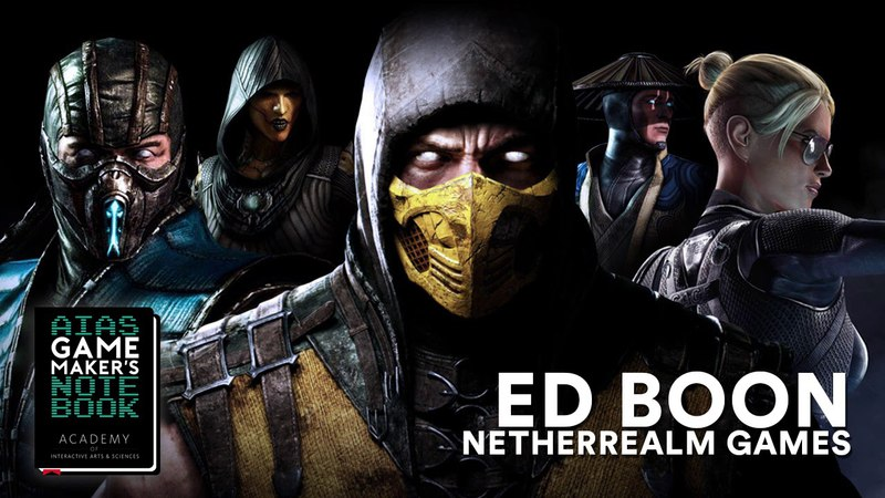 Mortal Kombat Creator, Ed Boon - The AIAS Game Maker's Notebook