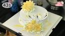 Chocolate cake decorating bettercreme vanilla (431) Học Làm Bánh Kem Đơn Giản Đẹp - Sen Vàng (431)