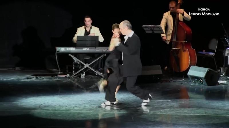 Tango El huracan. Magdalena Guttierez Horacio Godoy. Танго. Магдалена Гутиеррез и Орасио Годой.