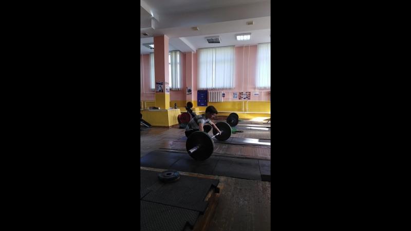 Сысолятин Степан, рывок 50кг