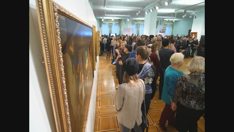 В Национальной художественной галерее открылась выставка «Из века в век. Сокровища Русского музея»