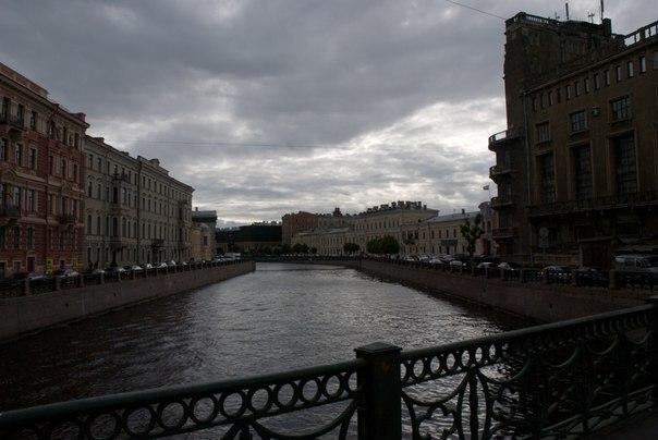 небо, Питер, мост
