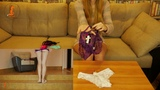 New panty try on (n.10) YouTube bored version by RedHead Foxy90