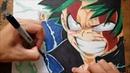 Drawing Midoriya Izuku (Boku No Hero Academia)