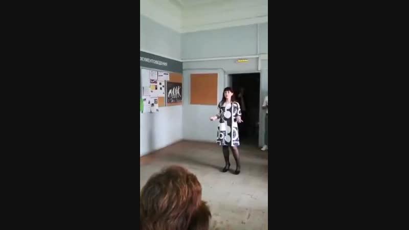 Выступление перед преподавателями на День Учителя ТГПУ им Л Н Толстого 2018 год