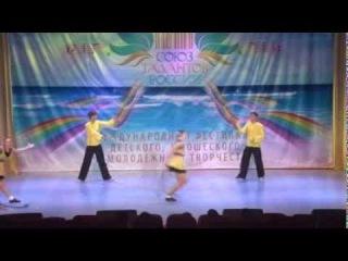 Квартет анс. танца «Уральские узоры» Романов И., Ильина Я., Романов И., Норина А.