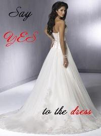 Оденься к свадьбе самое дорогое платье
