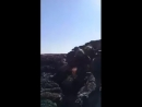 S. Syria following arrival of reinforcements, SAA NDF renewed assault vs ISIS in Safa Volcanic Field. As video shows, rugged l