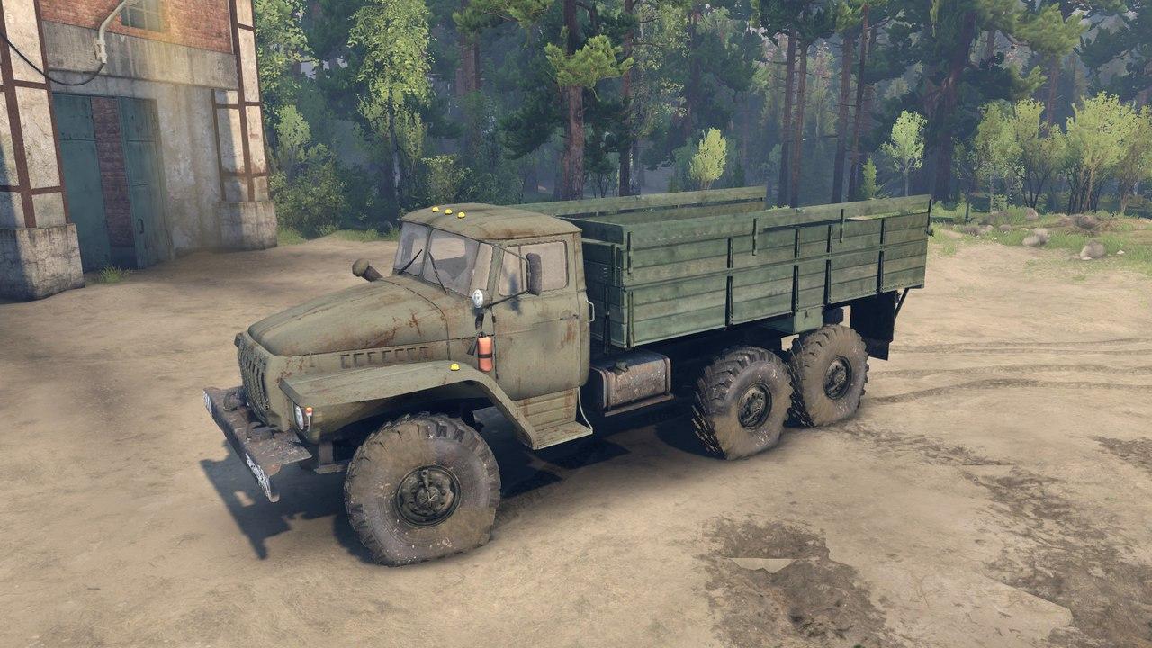 Урал-4320-01 Доработанный. для Spintires - Скриншот 2