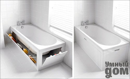 Необычный экран для ванной. Креативная ванная комната. Как вам идея???