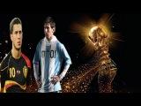 Lionel Messi vs Eden Hazard  ● Argentina vs Belgium - Quarter Final World Cup 2014