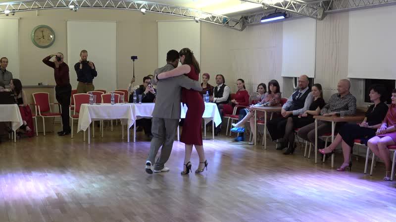 Andres Silva y Milena Odzeri, Poema