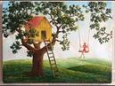Домик на дереве Безмятежность Художник Вреж Киракосян
