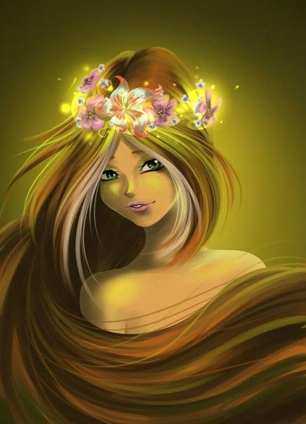 Фанфик Перекрестки миров, арты винкс, игра макияж для снежной принцессы!