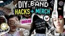 DIY Concert Music LIFE HACKS Band MERCH