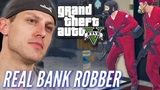 Ex-Bank Robber Attempts A Heist In Grand Theft Auto V Pro Play