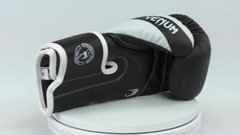 Перчатки для бокса Venum Elite Boxing Gloves mp4