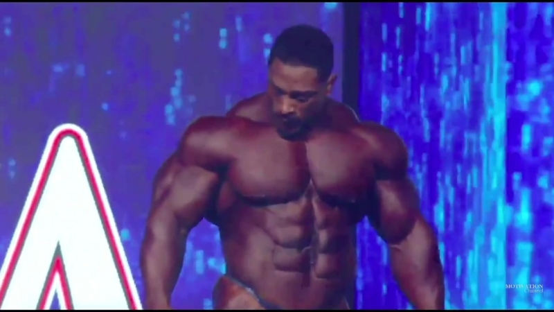 Roelly Winklaar Mr. Olympia 2018. Final Posing. 3 place