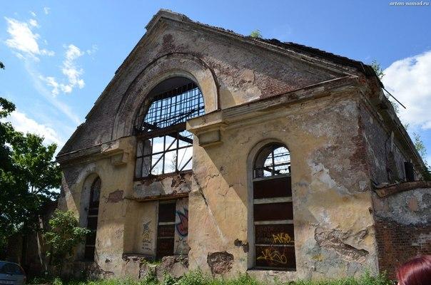 Руины Доминиканского монастыря