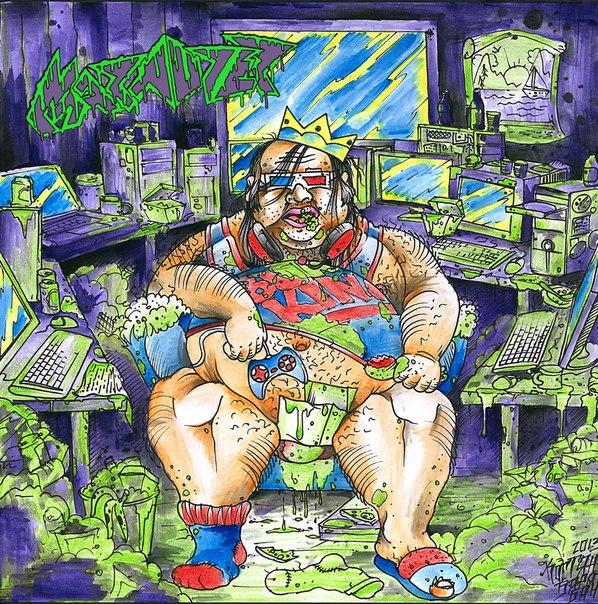 Marauder -  Atrophied King (single)  (2013)