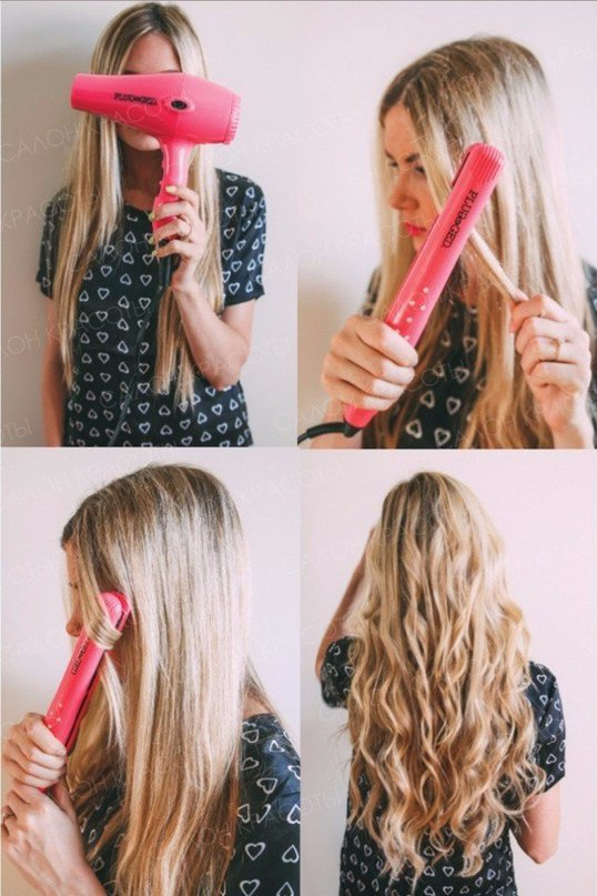10 классных способов укладки с помощью утюжка для волос