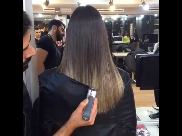Saç kesimi ve boyama 😍