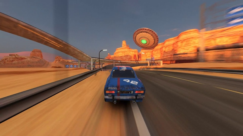 TrackMania One Speed Fast And Fabulous Track