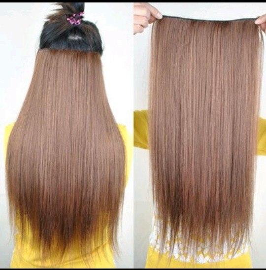 Накладные волосы на заколках как крепить фото