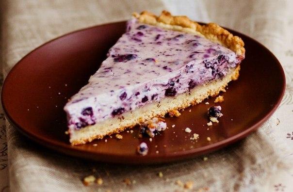 Черничные пирог рецепт с