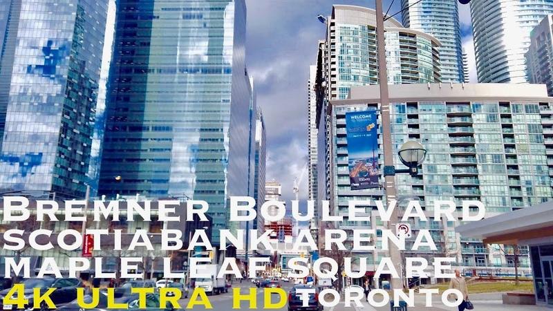 Bremner Blvd (walking tour 4k)