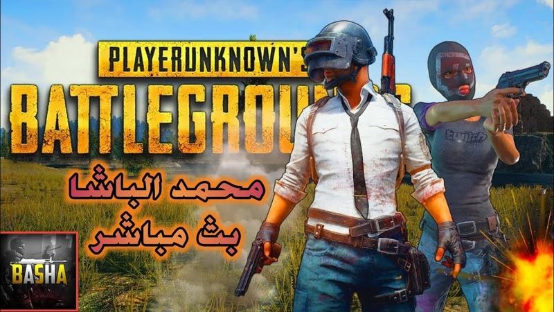 ببجي موبايل محمد الباشا بث مباشر ورفع التقيم PUBG Mobile