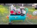 Компрессор на базе ЗИЛ 130 с водяным охлаждением