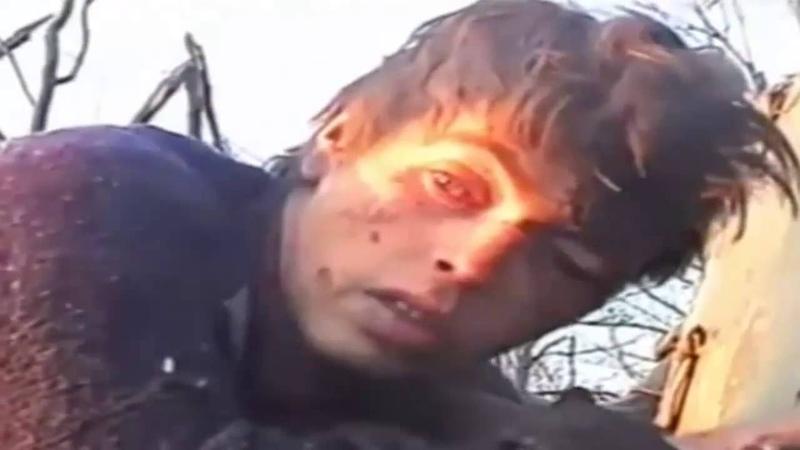 Паскуда ты сказал СОБРовец на русского дезертира и предателя на Чеченской войне