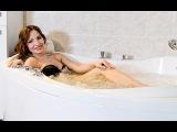 Медея - угловая акриловая ванна с гидромассажем