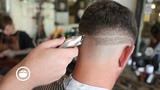 Caesar Style Skin Fade Mens Haircut