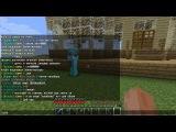Minecraft 1.4.7 Сетевая игра сервер SparkCraft часть 10 Помощь другу :)