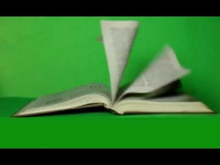 Free Book Pages Moving Green Screen Masters