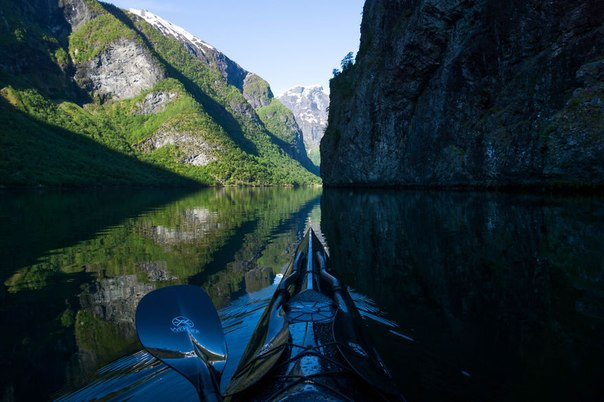 10 неймовірних фото Норвергії, зняті з байдарки!