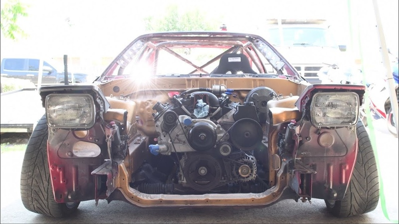 V8 Swapped Supra Drift Car Cage Completion and Wiring Genesis