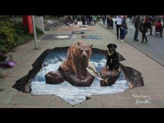 BEST of 3D Street Art illusions 2016 (EPISODE 1)