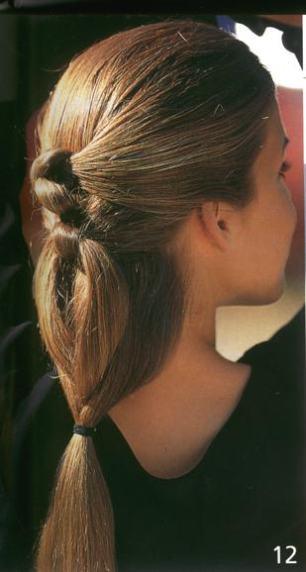 вечерняя прическа для длинных волос.  Как плести прическу...