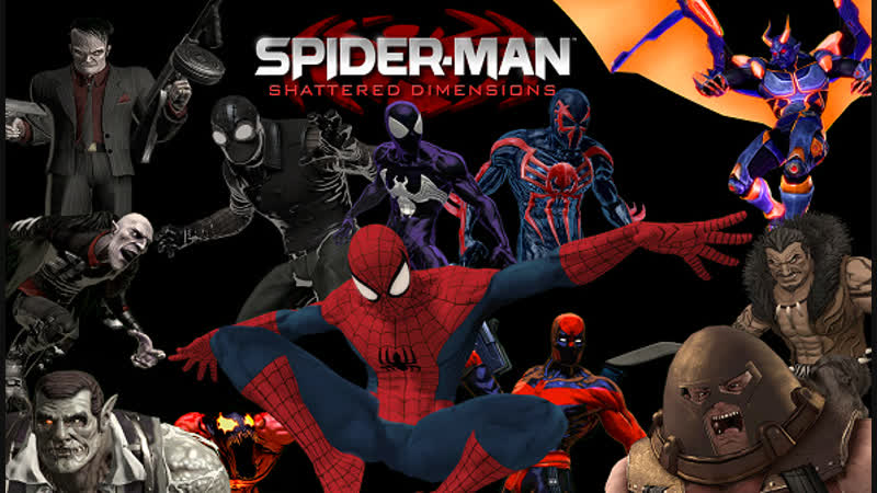 Spider Man Shattered Dimensions XB Style