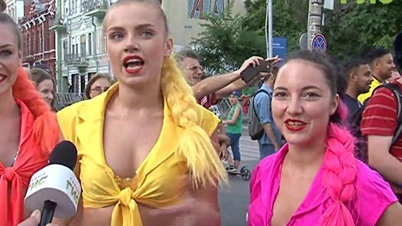 Флешмоб в стиле диско На улице Куйбышева в Самаре прошло танцевальное представление