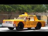 Lego Chevrolet Caprice Taxi car MOC