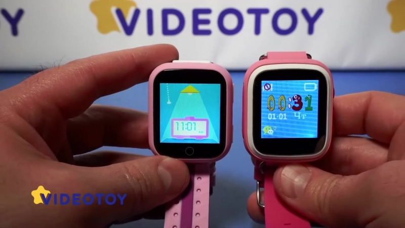 Smart Baby Watch Q100 (GW200S) - детские GPS часы. Q100 - детские часы c GPS слежением, gps tracker