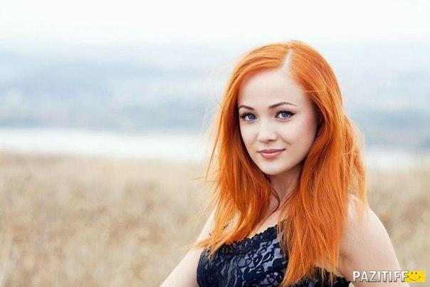 Голубые глаза и рыжие волосы макияж