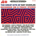 Ray Charles альбом The Great Hits Of Ray Charles Recorded On 8-Track Stereo